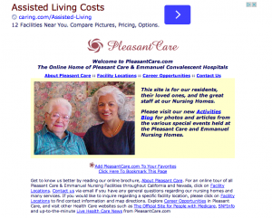 Pleasant Care Skill Nursing Homes and Convalescent Hospitals